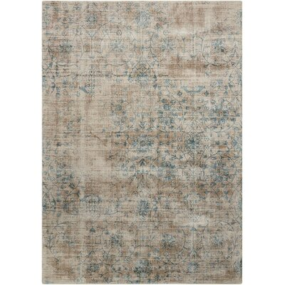 Desert Skies Hand-Loomed Brown Area Rug Rug Size: Rectangle 53 x 75