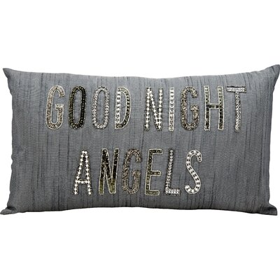 Good Night Angels Lumbar Pillow