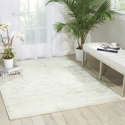 Desert Skies Hand-Loomed Beige Area Rug Rug Size: Rectangle 39 x 59
