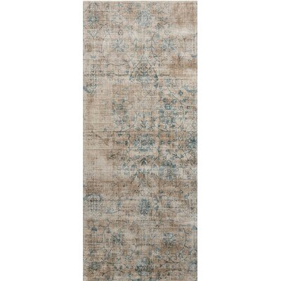 Desert Skies Hand-Loomed Brown Area Rug Rug Size: Runner 23 x 8