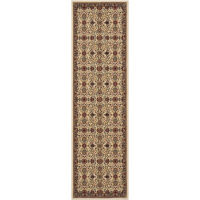 Antiquities Brown Area Rug Rug Size: Runner 22 x 76
