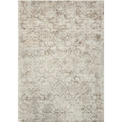 Desert Skies Hand-Loomed Gray Area Rug Rug Size: Rectangle 8 x 11