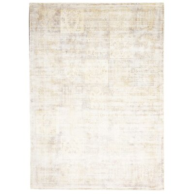 Desert Skies Hand-Loomed Beige Area Rug Rug Size: Rectangle 53 x 75