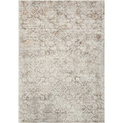 Desert Skies Hand-Loomed Gray Area Rug Rug Size: Rectangle 9 x 12