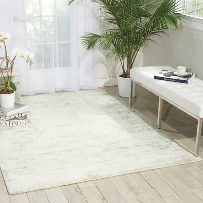 Desert Skies Hand-Loomed Beige Area Rug Rug Size: Rectangle 9 x 12