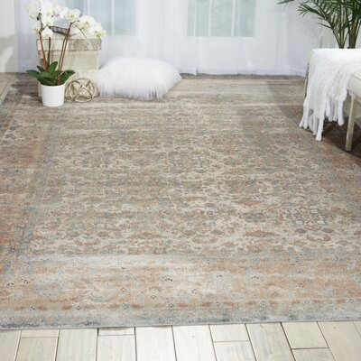 Malta Slate Area Rug Rug Size: Rectangle 9 x 12