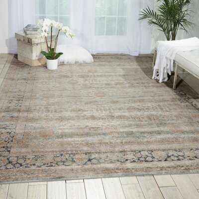 Malta Cloud Area Rug Rug Size: Rectangle 53 x 77