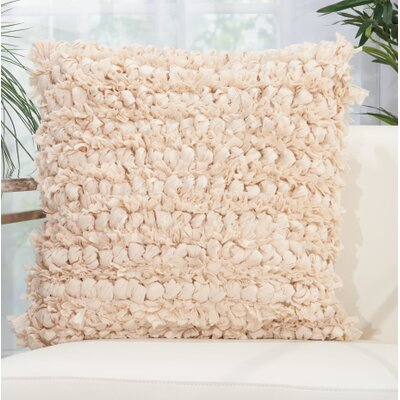 Dream Throw Pillow Color: Beige