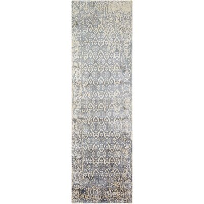 Desert Skies Hand-Loomed Blue Area Rug Rug Size: Runner 23 x 8