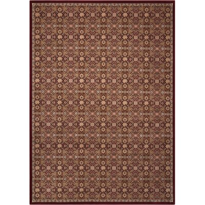 Antiquities Brown Area Rug Rug Size: Rectangle 53 x 74