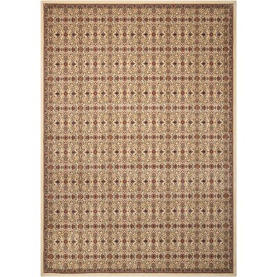 Antiquities Brown Area Rug Rug Size: 53 x 74