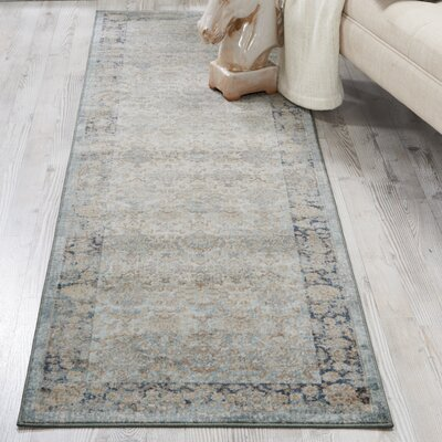 Malta Cloud Area Rug Rug Size: Runner 22 x 77