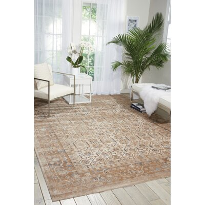 Malta Beige Area Rug Rug Size: Rectangle 710 x 1010