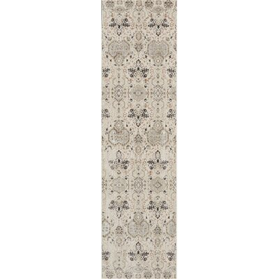 Silver Screen Gray/Slate Area Rug Rug Size: Runner 22 x 76