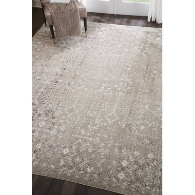 Silver Screen Latte Area Rug Rug Size: Rectangle 8 x 10