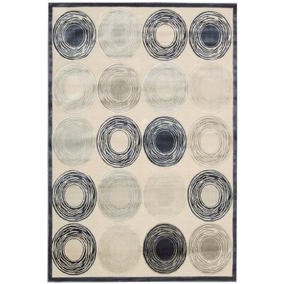 Bel Air Prelude Ivory Area Rug Rug Size: Rectangle 79 x 99