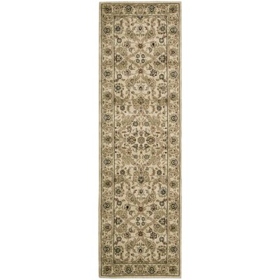 Lumiere Royal Countryside Beige Area Rug Rug Size: Runner 23 x 79