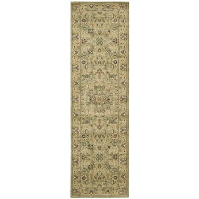 Lumiere Royal Countryside Sage Area Rug Rug Size: Runner 23 x 79