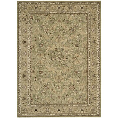 Lumiere Royal Countryside Sage Area Rug Rug Size: 53 x 75