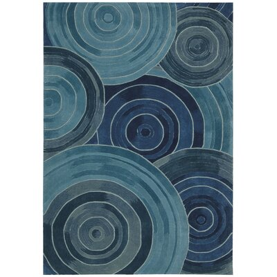 Palisades Ovation Hand-Tufted Denim Area Rug Rug Size: 5 x 76