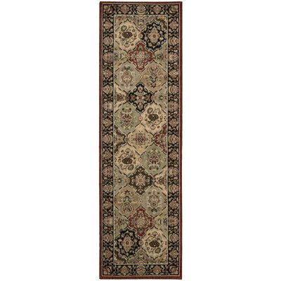 Lumiere Persian Tapestry Multicolor Area Rug Rug Size: Runner 23 x 79