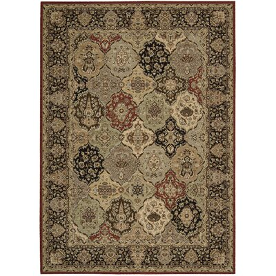 Lumiere Persian Tapestry Multicolor Area Rug Rug Size: Rectangle 36 x 56