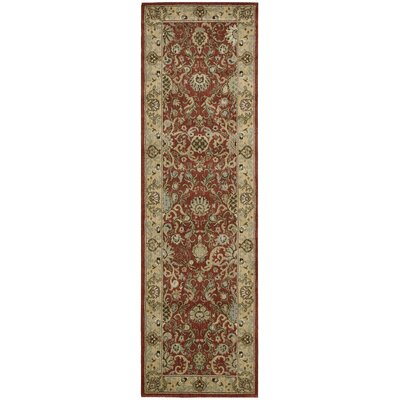 Lumiere Stateroom Brown Area Rug Rug Size: Runner 23 x 79