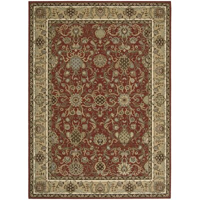 Lumiere Stateroom Brown Area Rug Rug Size: Rectangle 96 x 13