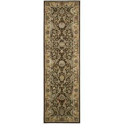 Lumiere Stateroom Espresso Area Rug Rug Size: Runner 23 x 79