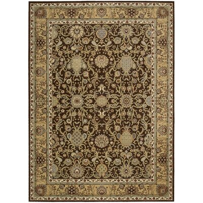 Lumiere Stateroom Espresso Area Rug Rug Size: Rectangle 36 x 56