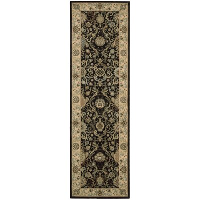 Lumiere Stateroom Onyx Area Rug Rug Size: Runner 2'3