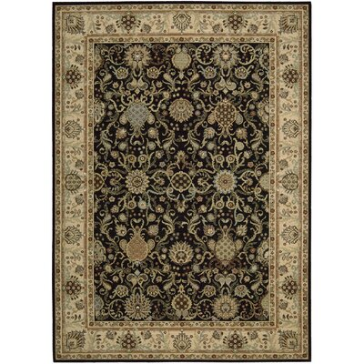 Lumiere Stateroom Onyx Area Rug Rug Size: Rectangle 36 x 56