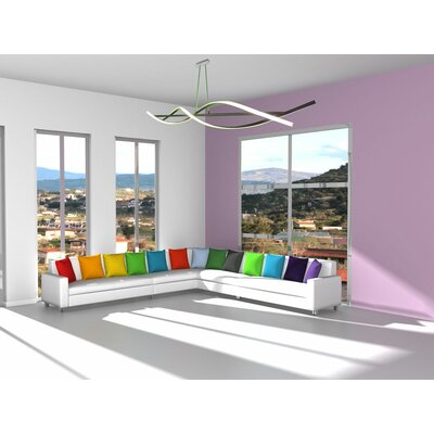 Helix 2 LED Integrated Bulb Pendant