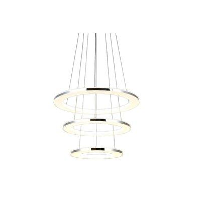 Barsa 3-Light Geometric Pendant