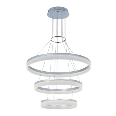 Cirbel 3-Light Geometric Pendant