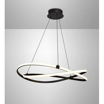 Zeppelin 1-Light LED Geometric Pendant