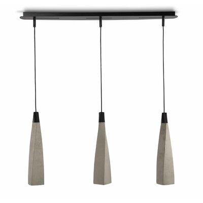 Oisin 3-Light Kitchen Island Pendant