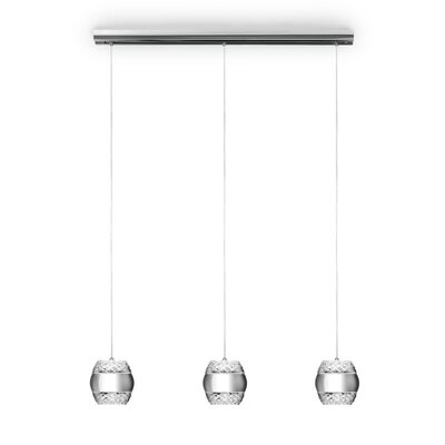 LaKala 3-Light Kitchen Island Pendant