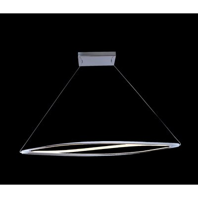 Twist 3-Light Kitchen Island Pendant Finish: Silver