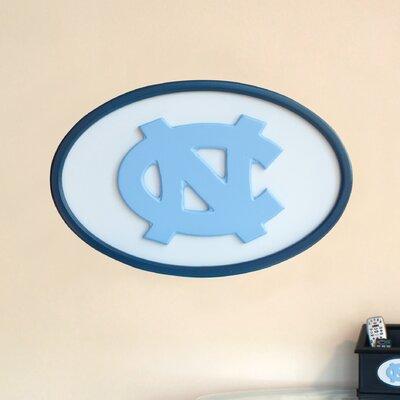 NCAA Logo Graphic Art Plaque NCAA Team: North Carolina