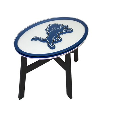 NFL End Table NFL Team: Detroit Lions