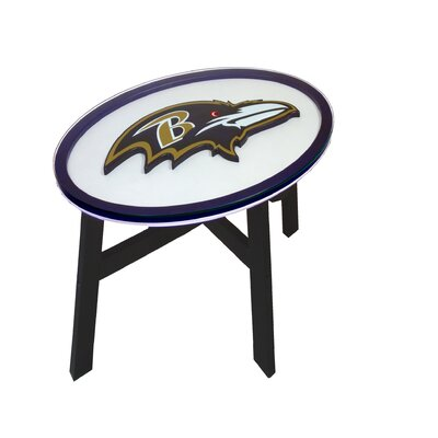 NFL End Table NFL Team: Baltimore Ravens