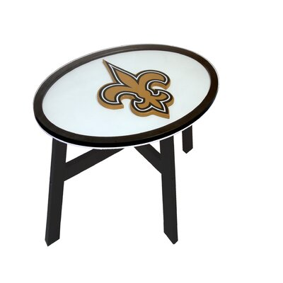 NFL End Table NFL Team: New Orleans Saints