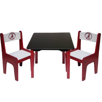Fan Creations NCAA Kids' 3 Piece Table and Chair Set - NCAA Team: Alabama at Sears.com