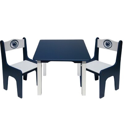 Fan Creations NCAA Kids' 3 Piece Table and Chair Set - NCAA Team: Penn State at Sears.com