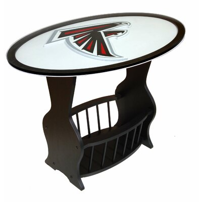 NFL Logo End Table NFL Team: Atlanta Falcons