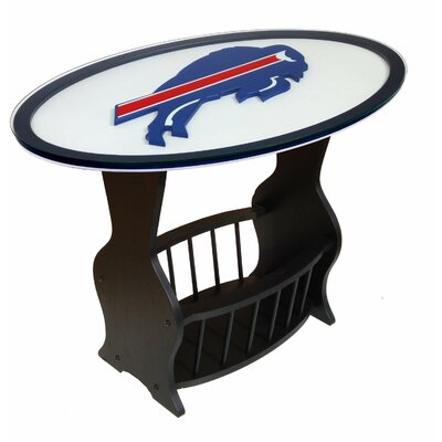 NFL Logo End Table NFL Team: Buffalo Bills