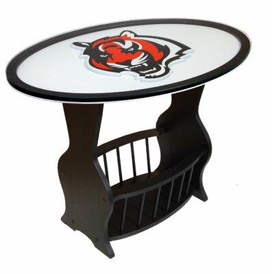 NFL Logo End Table NFL Team: Cincinnati Bengals