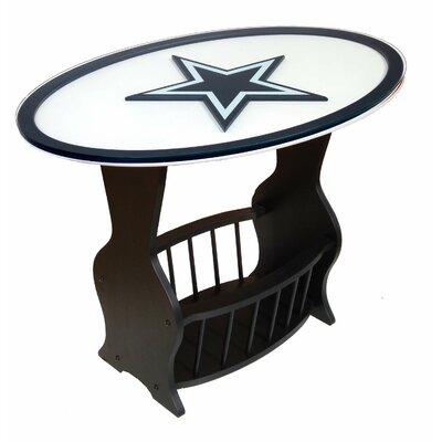 NFL Logo End Table NFL Team: Dallas Cowboys