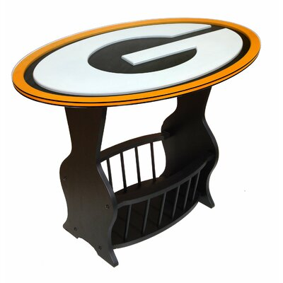 NFL Logo End Table NFL Team: Green Bay Packers